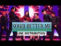 GFRIEND SOWON UMJI- BETTER ME LINE DISTRIBUTION