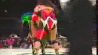 ハーレー斎藤、イーグル沢井 vs. ブル中野、アジャ・コング 1/2 (93.04.02横浜アリーナ) ハーレー斉藤 検索動画 17