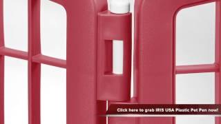 Iris Usa Indoor And Outdoor Plastic Pet Pen Review