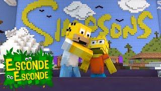Minecraft: CIDADE DOS SIMPSONS! (Esconde-Esconde)