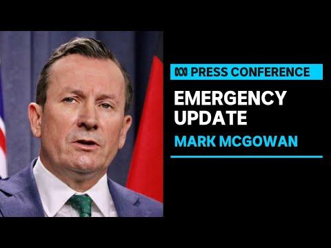 #LIVE: WA Premier Mark McGowan provides a COVID-19 & bushfire update | ABC News