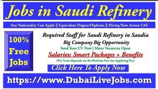 Yasref Careers in Saudi Arabia 2020, Saudi refinery Vacancies Open, Apply Online Now