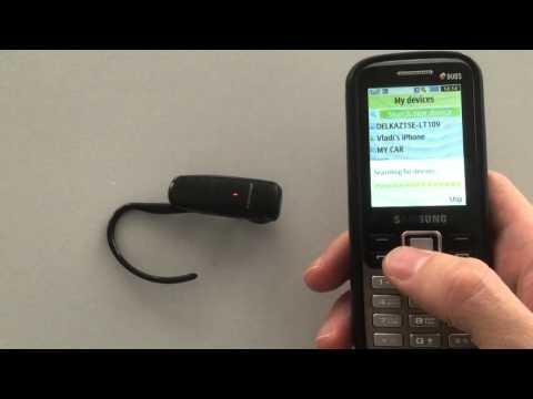 Подключение Bluetooth гарнитуры Plantronics ML-20