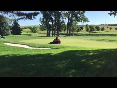 Championship Course Prep - Indian Creek Golf Course