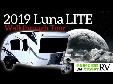2019 Luna LITE by Intech RV - Walkthrough by Princess Craft RV