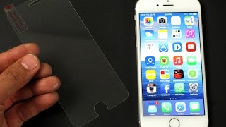 iPhone 6  How to install Glass Screen Protector