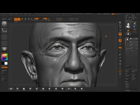 Jonathan Banks - Likeness Sculpting in ZBrush | Andor Kollar - Character Artist