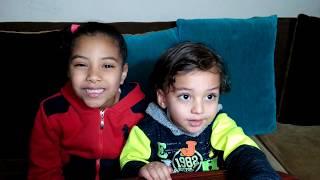 مالك ومرام من كواليس اول فيديو في القناة