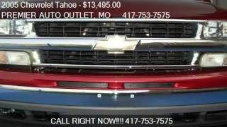 2005 chevrolet tahoe lt for sale in rogersville mo 65742