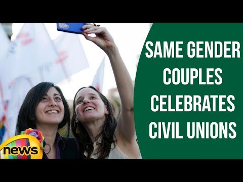 Chile's First Same-Sex Civil Union celebrated in Santiago | Mango News