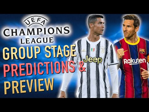 My 2020-21 Champions League Predictions (Group Stage Preview)