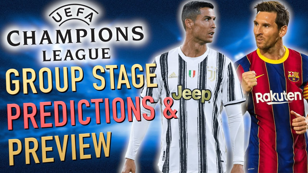 2020-21 Champions League Preview (& Group Stage Predictions)
