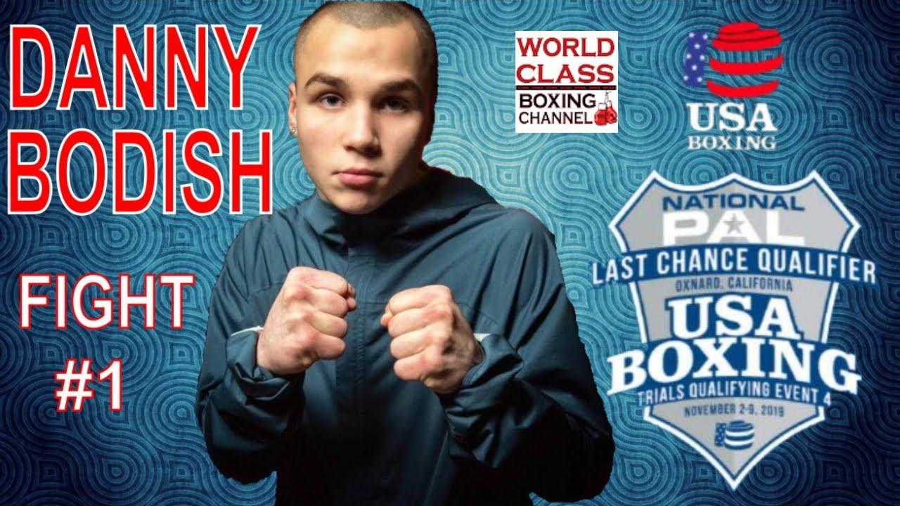 Danny Bodish Fight #1 Last Chance Qualifier November 2019