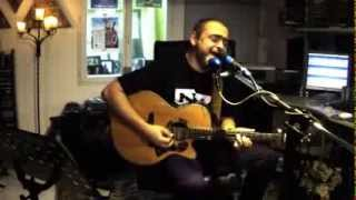 """Capital Cities  """"I sold my bed but not my stereo"""" - acoustic cover by lawrence collins"""
