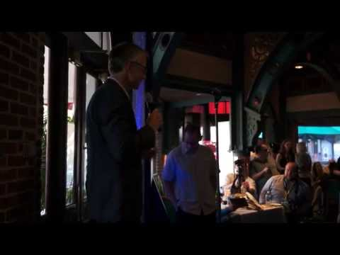 Transformers The Ride - 3D Orlando Grand Opening - Mark Woodbury at dinner reception Part 3\/3
