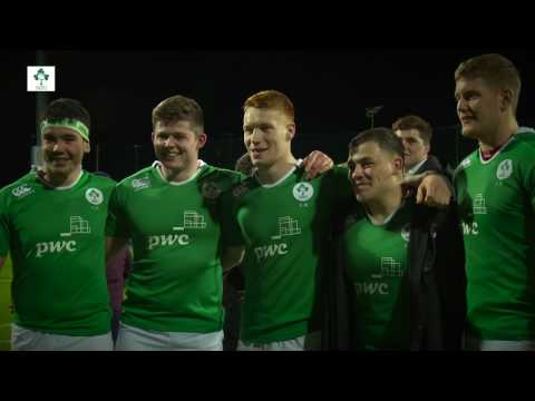 Irish Rugby TV: Ireland Under-20s' Donnybrook Cam