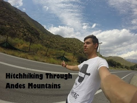 Hitchhiking Andes Moutains