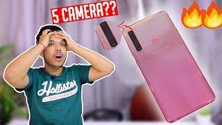 GALAXY A9 5 Cameras Ka SACH !! PIXEL 3 Se Bhi ACHE?? SD660 4gb ram🔥😱
