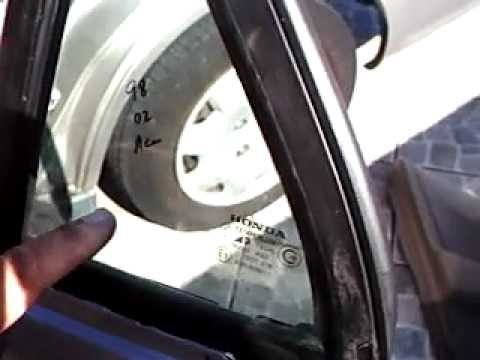 How to mount a rear corner window for a honda accord lx for 2002 honda accord power window problems