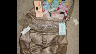 Random Shopping Haul (yard Sale $2 Fossil Purse, Big Lots, & Listia!)