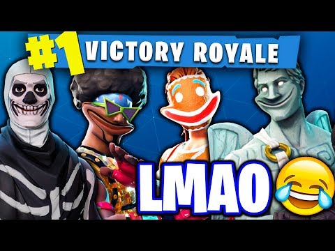 FUNNIEST FORTNITE SQUAD OF ALL TIME!! - (FUNNY MOMENTS IN SQUADS)