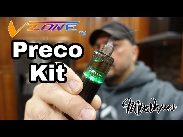 Is This Necessary? Preco Disposable Sub Ohm Tank Kit By VZONE - Mike Vapes