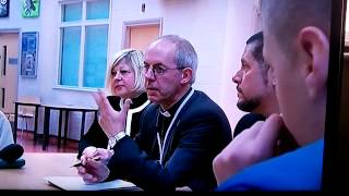 The Archbishop of Canterbury Justin Welby attends Trinity School Le...