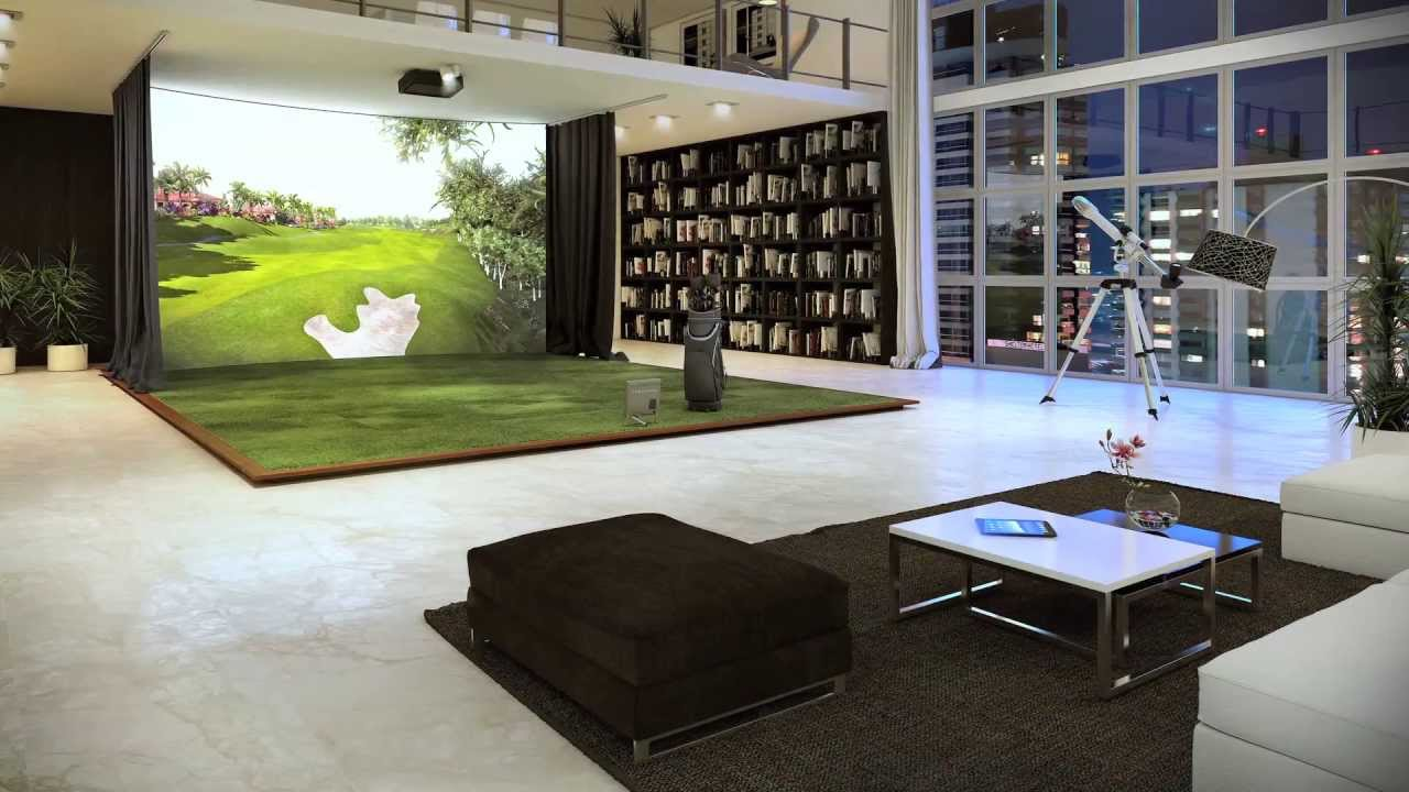 Trackman Simulator Introduction Youtube