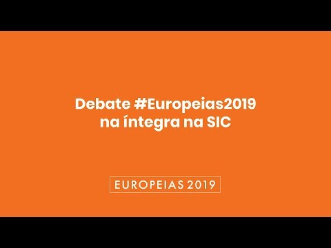 Debate #Europeias2019 na