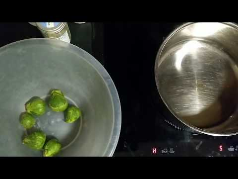 How to cook BRUSSEL SPROUTS IN BUTTER