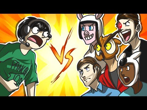 NOGLA vs THE GROUP! - Black Ops 2 Gun Game (Funny Moments)