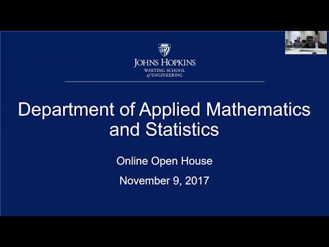 Online Information Session: Applied Mathematics and Statisti