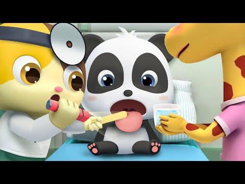 Bayi Panda Kiki Takut Dengan Suntikan | Kartun Anak | Bahasa Indonesia | Babybus