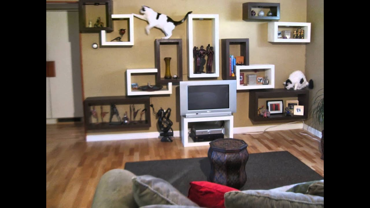 innovative modern cat furniture | Modern Cat Furniture by Sherpa Shelves - YouTube