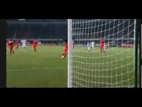 International Friendly Matches Goal Zheng Zhi China 1 - 0 Paraguay
