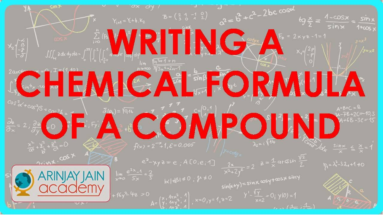 586ass vi cbse icse ncert writing a chemical formula of a class vi cbse icse ncert writing a chemical formula of a compound youtube buycottarizona Choice Image