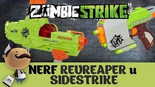 "Nerf Zombi Strike ""REVREAPER"" и ""SideStrike"" - Обзор бластеров"