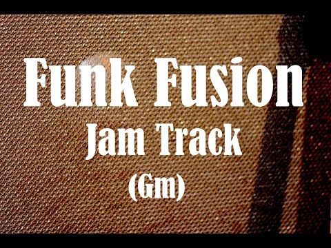 Funk Fusion Backing Track (Gm) - feat. Legato Master Luca Mantovanelli
