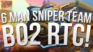 6 Man Sniper Team! :: iTemp's BO2 RTC S9 Ep. 5!