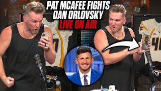 Pat McAfee & Dan Orlovsky Fight LIVE If Aaron Rodgers Made The Right Decision