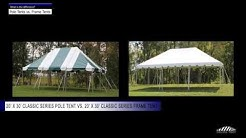 POLE Tents vs. FRAME Tents - What is the difference?