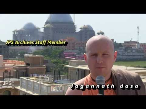 2015 H.H.Jayapataka Swami's Archives - Interviews with Archives staff. Pt.2.