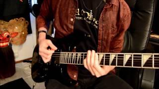 Tad Morose - Anubis - Guitar Cover