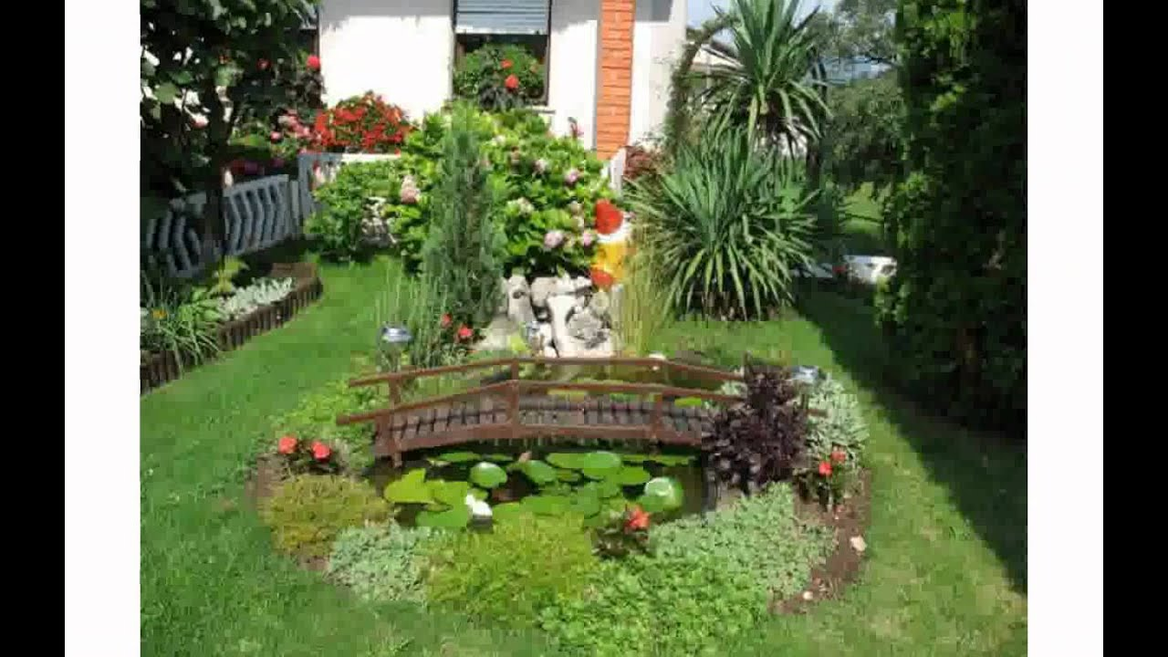 Outdoor garden decorations youtube for Small garden decoration
