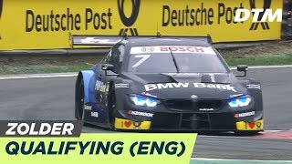 DTM Zolder 2019 - Qualifying Race 1 - RE-LIVE (English)