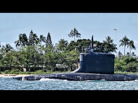 Fast Attack Nuclear Sub Departs On Routine Patrol