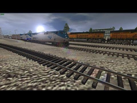 Trainz: Amtrak Empire Builder To Cut Bank, MT