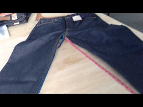 How levis 501 stf shrink 10% demo technique 1-  DIP IN THE TAB