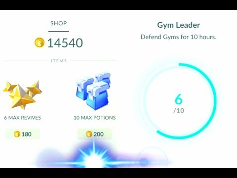 Pokémon GO GYM UPDATE How to collect coins and NEW SHOP ITEMS!
