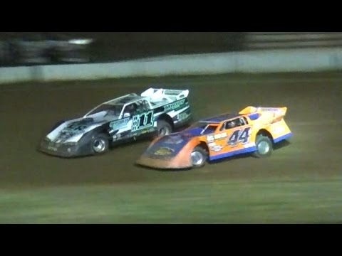ULMS Super Late Model Feature | McKean County Raceway | Jason Dunham Memorial | 7-14-16